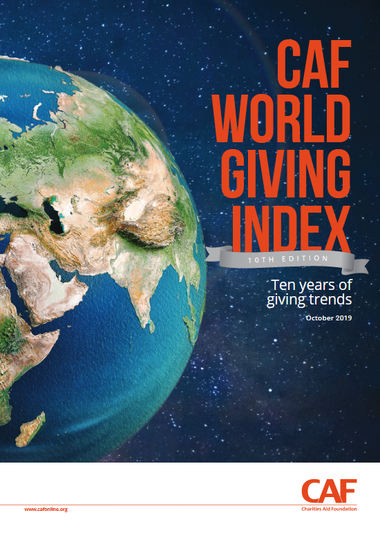 world giving index 10th anniversary cover