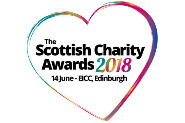 SCVO heart logo - Scottish Charity Awards 2018