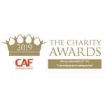CAF Proud Sponsor of the Charity Awards 2019