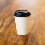 plastic coffee cup latte 150